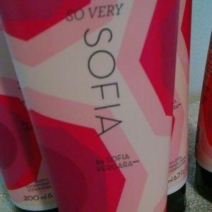 "Avon Makeup - LOT OF 3💥FOR $15 Avon ""So very Sofia"" body lotion"